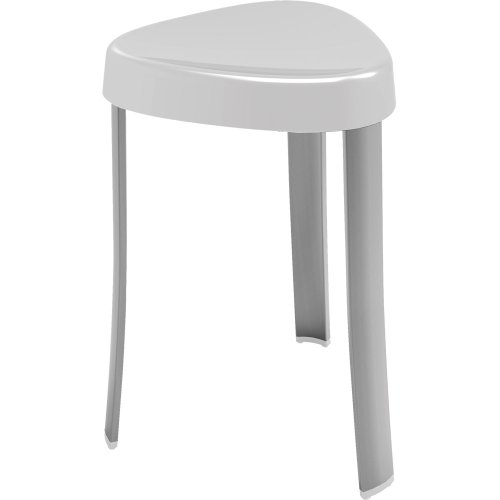 when comfort meets ergonomic design you get this shower stool it will not take much amount of space in your shower and can be easily tucked away in the