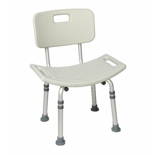 bath bench with back adjustable height - Shower Chair With Back