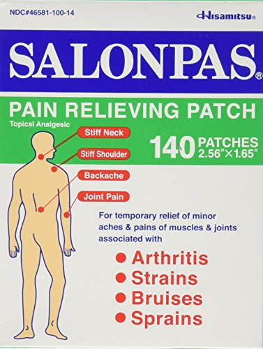 lidocaine patch for lower back pain