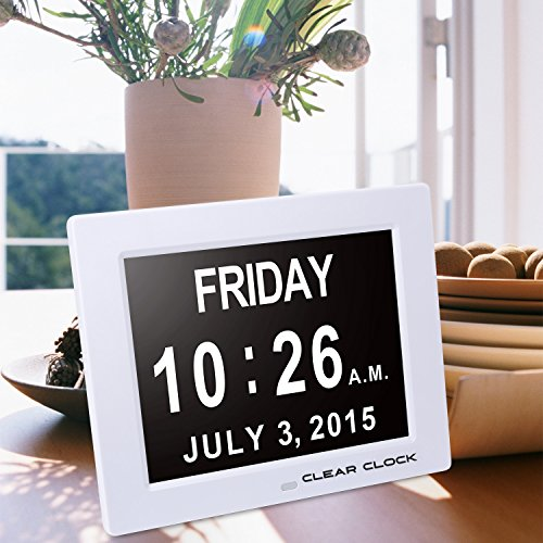 The 5 Best Calendar Clocks Ranked Product Reviews And Ratings