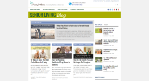 Senior Living Blog
