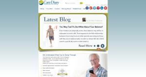 eCare Diary blog