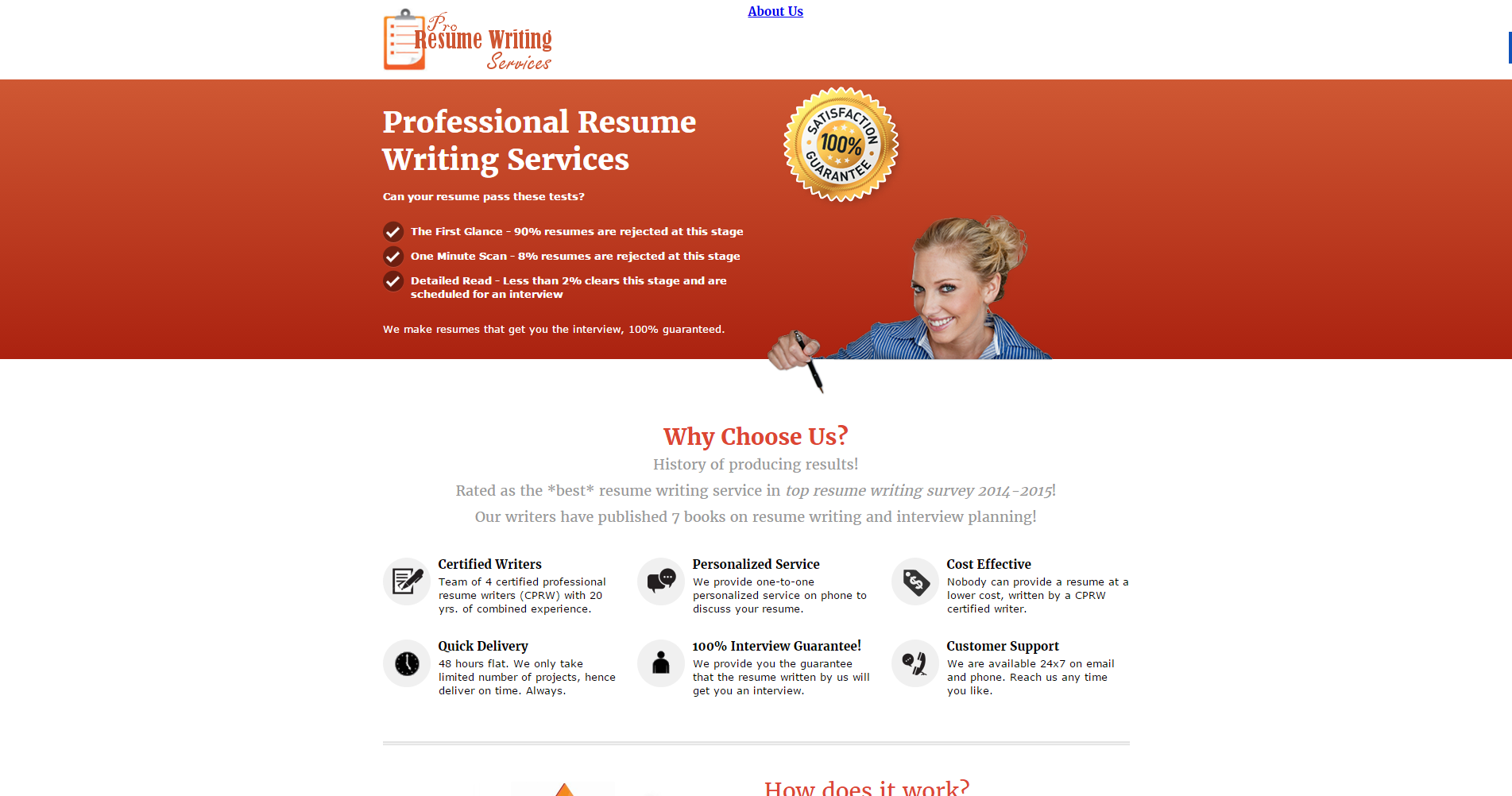 the 5 best  ranked  resume writing services