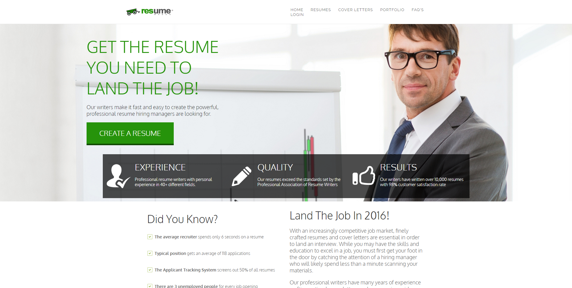 review of resume writing services