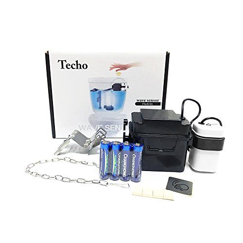 The Techo Touchless Toilet Flush Kit Review