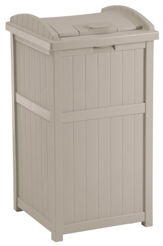 the suncast gh1732 outdoor trash hideaway review - Outdoor Trash Cans