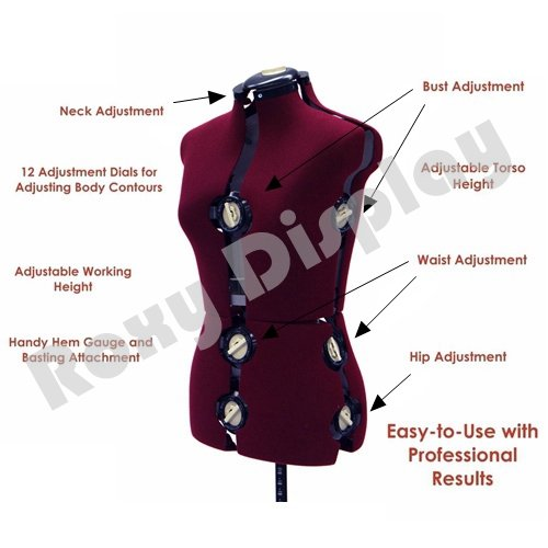 The Roxydisplay Adjustable Dress Form Review