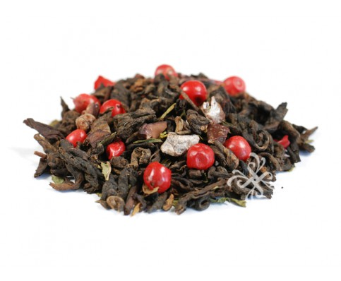 dark chocolate peppermint dessert tea