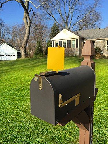 metal mailbox flag. The Mail Time Mailbox Alert Signal Flag Review Metal A