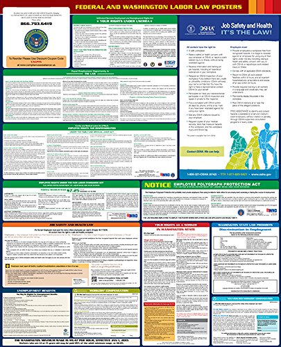 The best 2017 labor law posters reviewed product reviews and ratings the 2017 washington federal and state labor law poster is an all in one resource that provides an english language compendium of employee labor law sciox Images