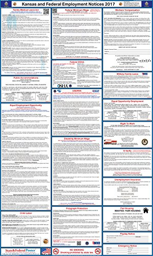 The best 2017 labor law posters reviewed product reviews and ratings the 2017 kansas federal and state labor law poster is a 24 x 40 option for your kansas area business one buyer we spoke to had purchased this kansas sciox Images