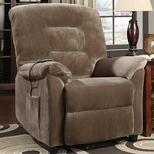 The Coaster Home Furnishings Power Lift Recliner Review : handicap lift recliners - islam-shia.org