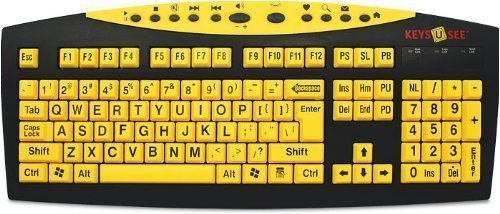 2ee4d35f711 The 5 Best Large Print Keyboard [Ranked] | Product Reviews and Ratings
