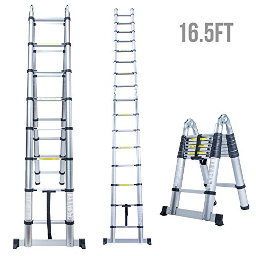 The 5 Best Telescoping Extension Ladders | Product Reviews and Ratings