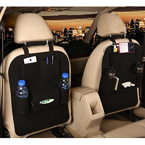 Activity & Gear Mother & Kids Car Seat Back Cover Mat Baby Feeding Bottle Snack Tablet Organizer Cartoon Storage Bags Multi-functional Hanging Holders Year-End Bargain Sale