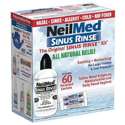 The NeilMed Sinus Rinse Kit Review