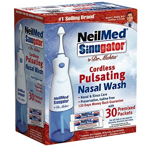 5. The NeilMed Sinugator Cordless Pulsating Nasal Irrigator Review