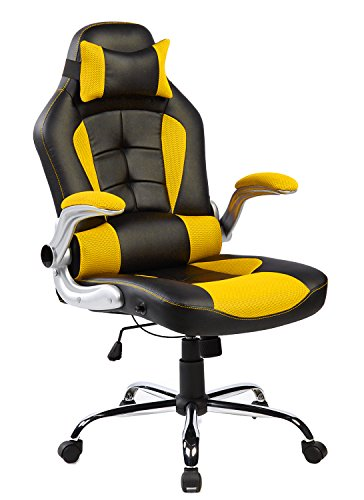 the merax highback gaming desk chair review