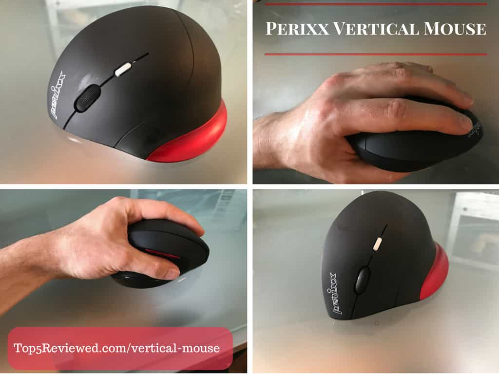 Vertical Mouse Graphic