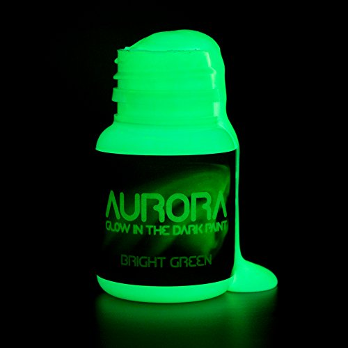The Aurora Bright Green Glow In Dark Paint Review