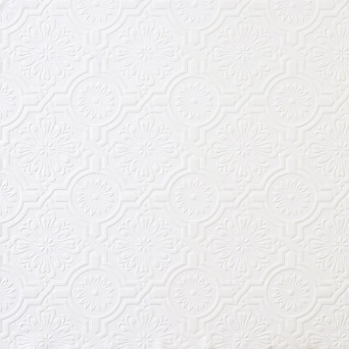 3 The Brewster Paintable Victorian Tin Textured Wallpaper Review