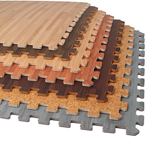 Faux Wood Flooring Reviews: The 5 Best [Ranked] Foam Floor Tiles