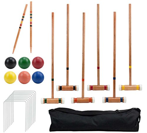 The Crown Sporting Goods Six Player Croquet Set Review