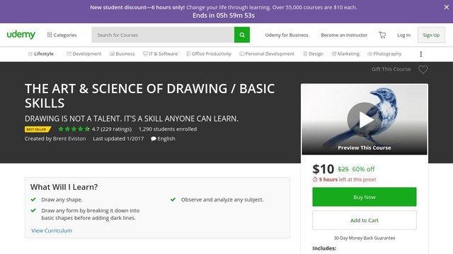 THE ART & SCIENCE OF DRAWING- BASIC SKILLS