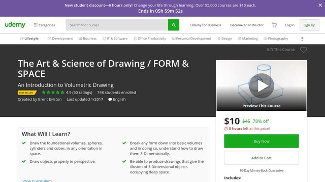The Art & Science of Drawing - FORM & SPACE