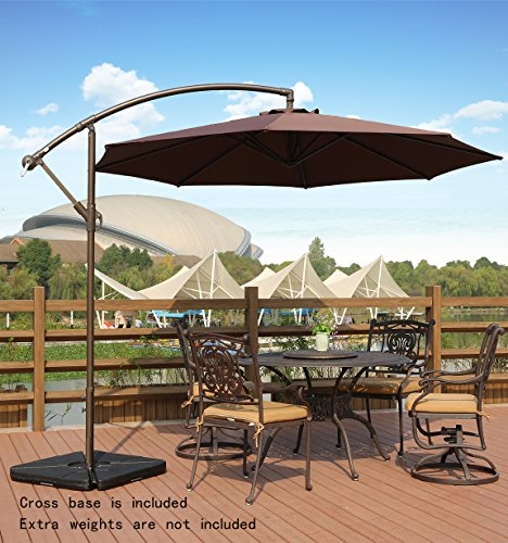 Genial The AMT Deluxe Adjustable Offset Cantilever Patio Umbrella Review