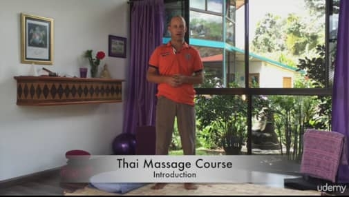 Learning thai massage online