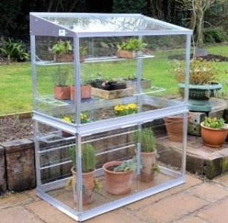 cold frame greenhouse pic
