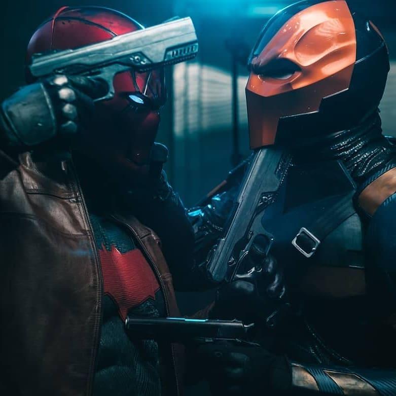 cosplay red hood helmet