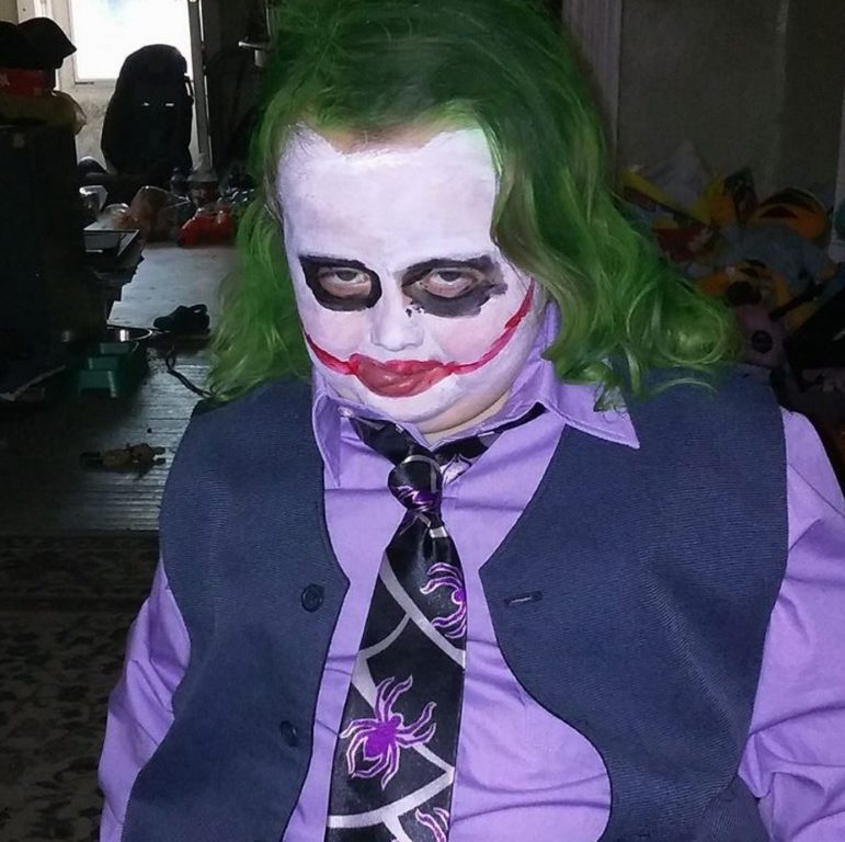 cringe anarchy joker costume