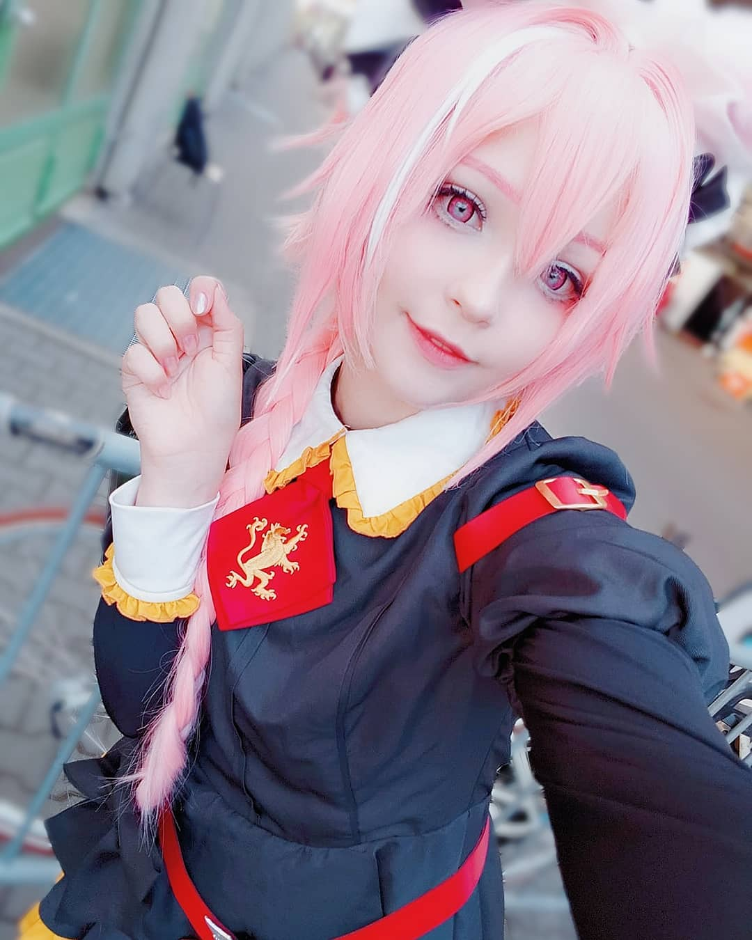 Fun Astolfo Cosplay Example