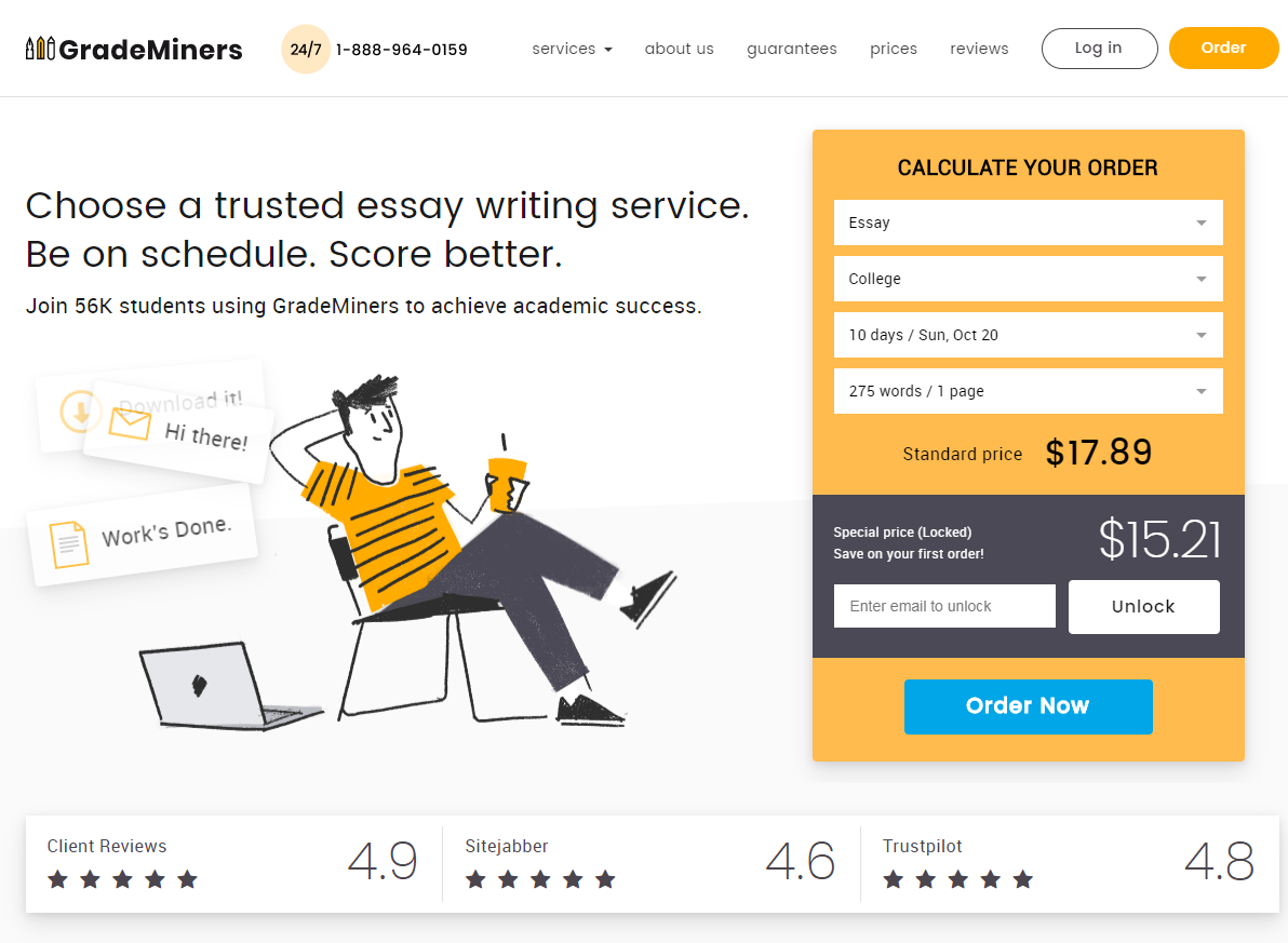 grademiners essay writing review