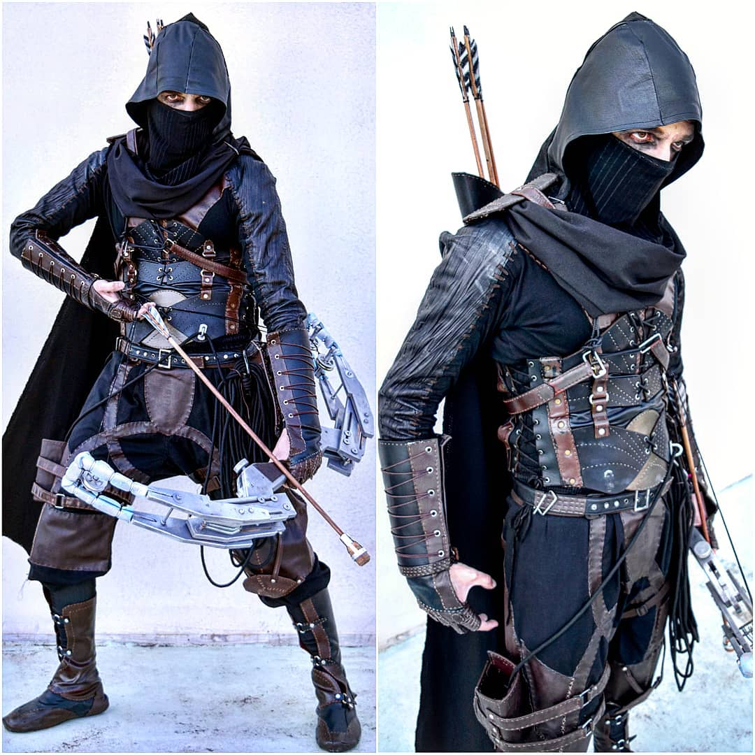 leather armor ninja