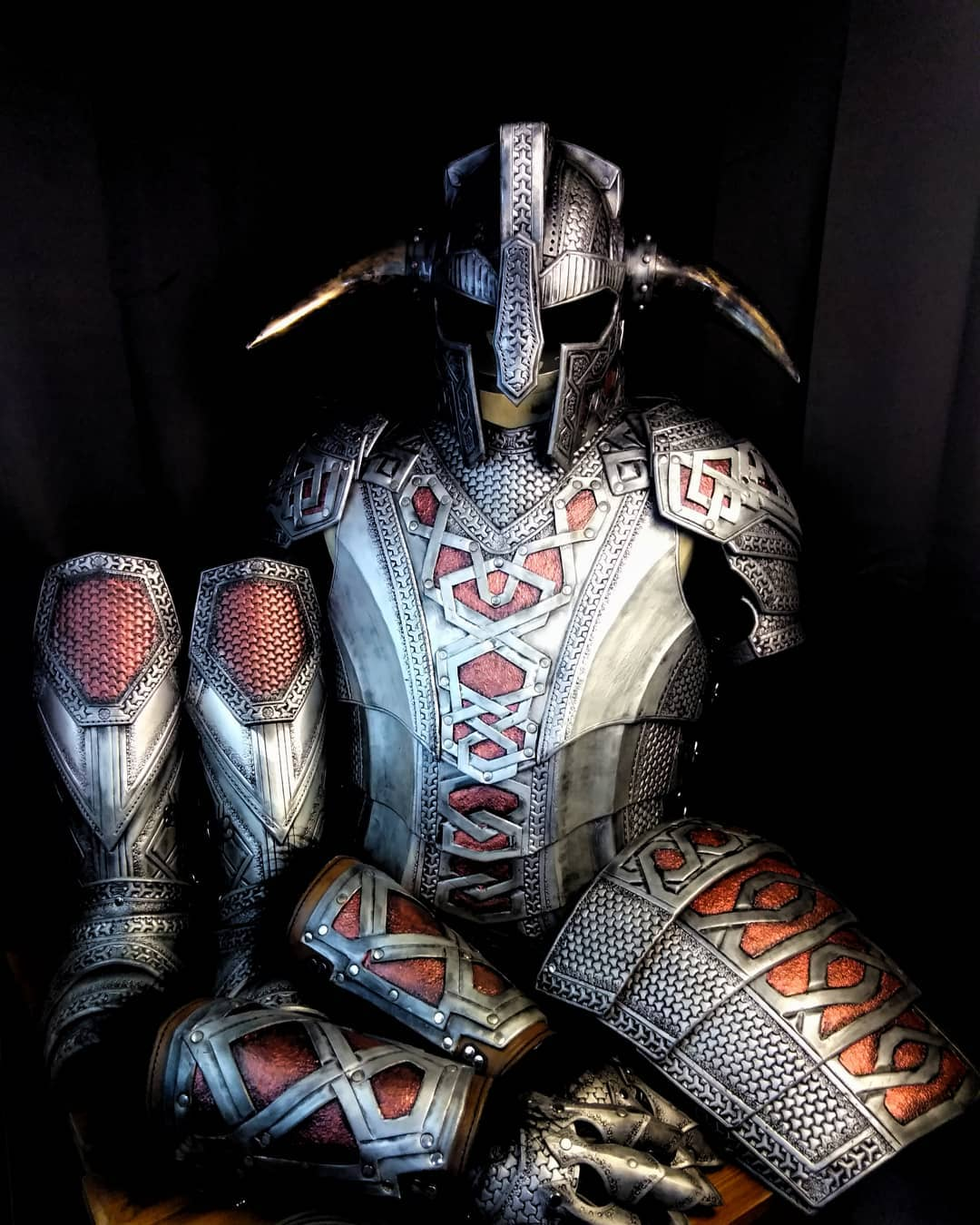 metal leather armor