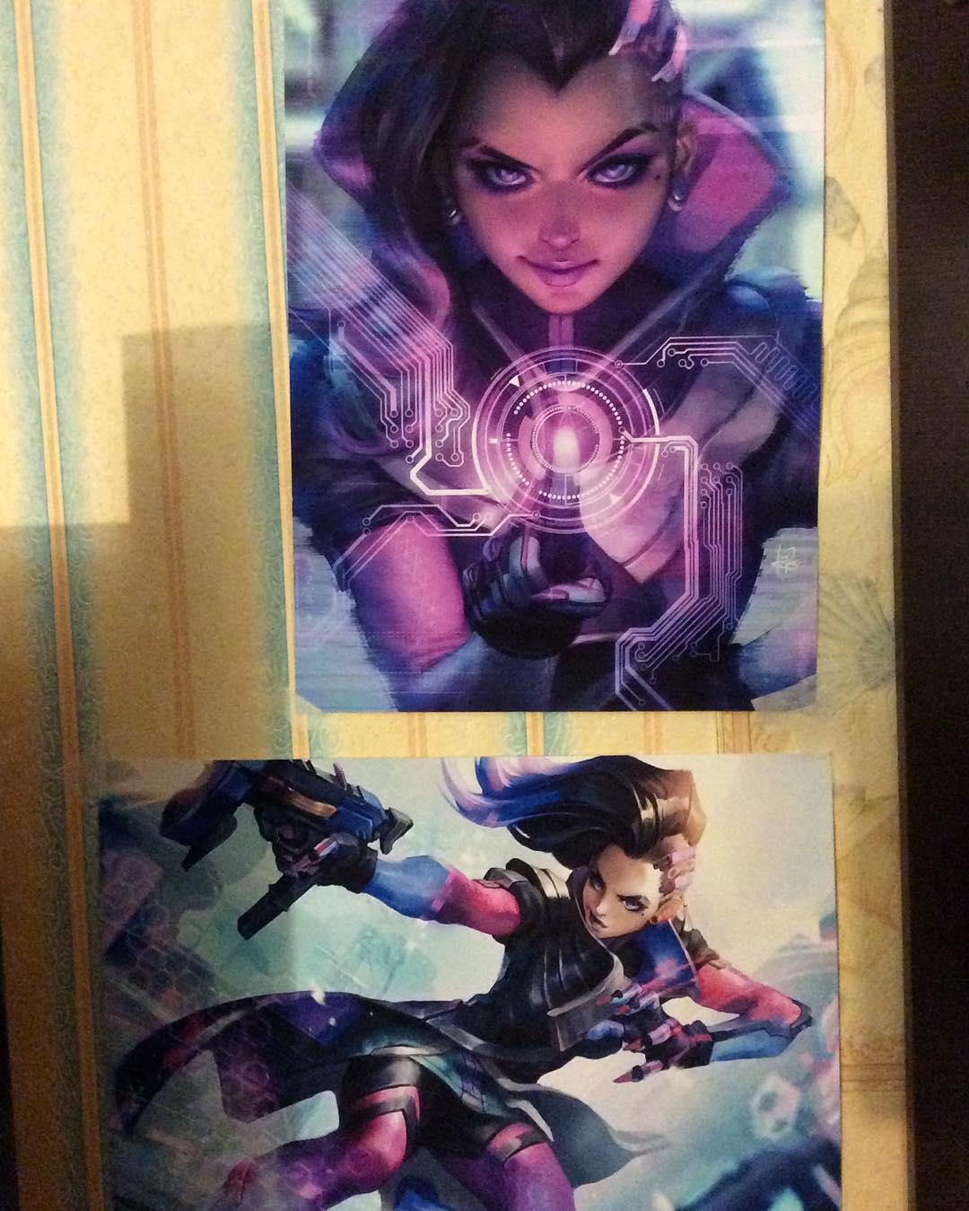 overwatch poster decor