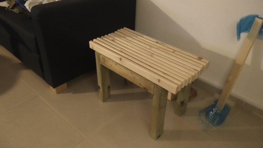 diy shower bench