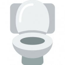 how to clean a portable toilet