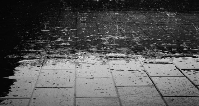 Rain Floor Water Wet Drops Rain - Giuliamar / Pixabay